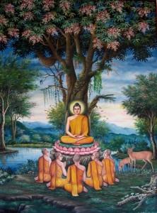 Par chance, nous avions récemment assisté aux séances de maîtrise de soi de Bouddha.