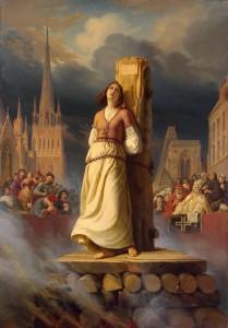 Jeanne D'Arc : une pyrotechnie chirurgique qui a mal tourné ? (lisez son histoire chez @Padre_Pio par contre !)
